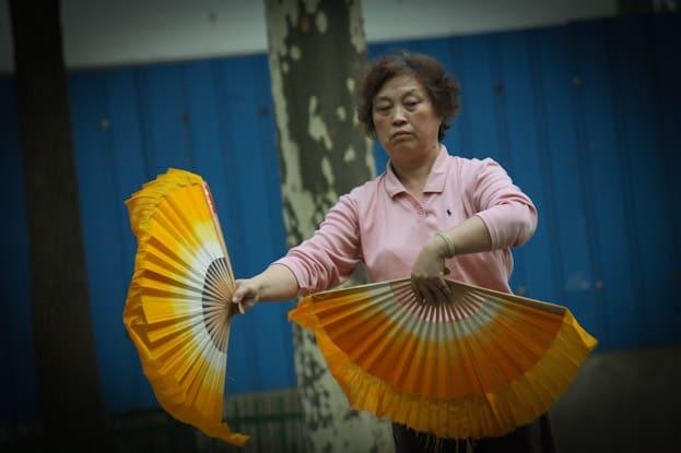 Lu Xun Park morgens um 6: Die beste Attraktion in Shanghai 18