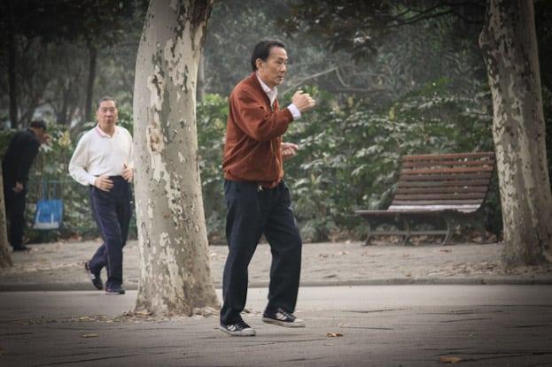 Lu Xun Park morgens um 6: Die beste Attraktion in Shanghai 15