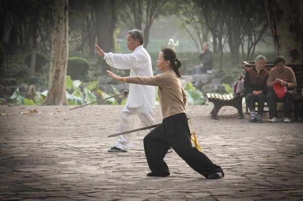 Lu Xun Park morgens um 6: Die beste Attraktion in Shanghai 13