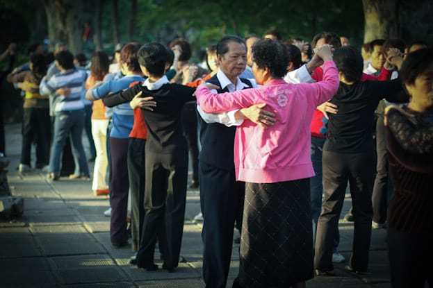 Lu Xun Park morgens um 6: Die beste Attraktion in Shanghai 4