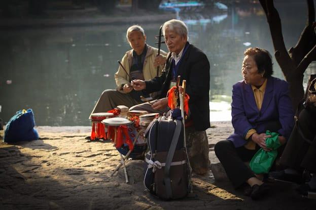 Lu Xun Park morgens um 6: Die beste Attraktion in Shanghai 2