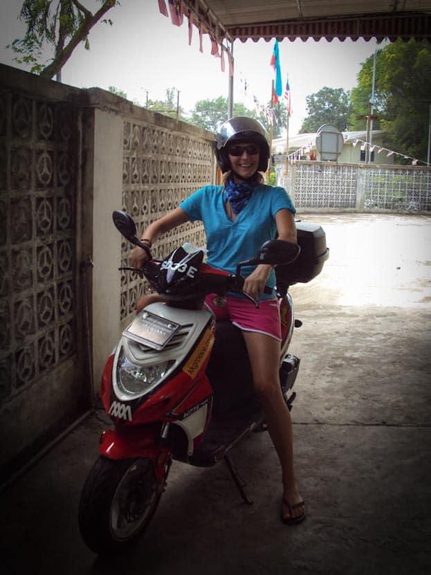 Roller Roadtrip zur Spitze Borneos