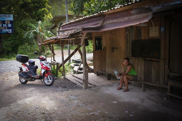Roller Roadtrip zur Spitze Borneos 9