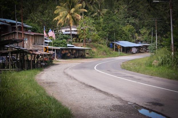 Roller Roadtrip zur Spitze Borneos 2