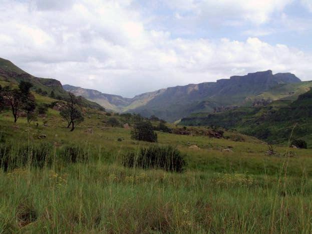 Drakensberge backpacking südafrika