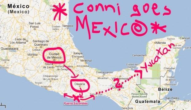 mexiko karte