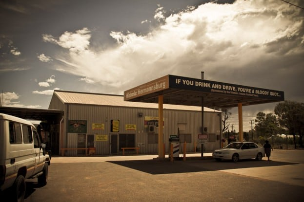 08_Aboriginal gas station