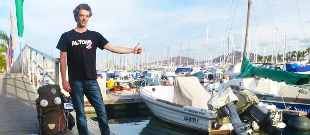 Wie Timo frei von Ort und Zeit das Reisen lebt: Ein Interview