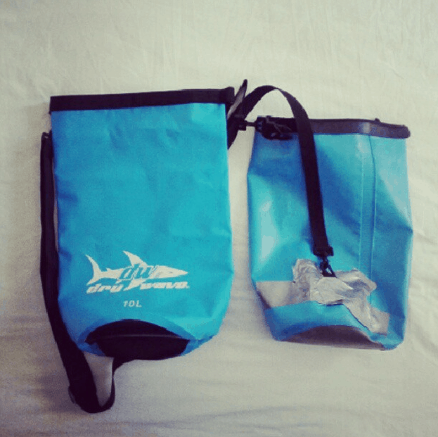 3 dinge packliste dry bag