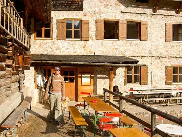 Ich so in den österreichischen Bergen rund um Salzburg