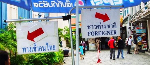 Verhaltensregeln beim Backpacking: So bist du kein Idiot In Thailand