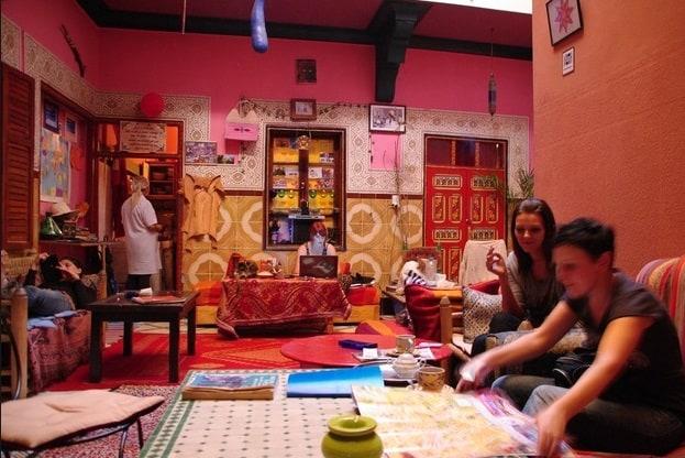 Hostel Riad Marrakech Rouge 623