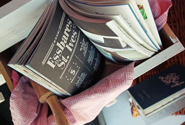 Buch in der Auslage