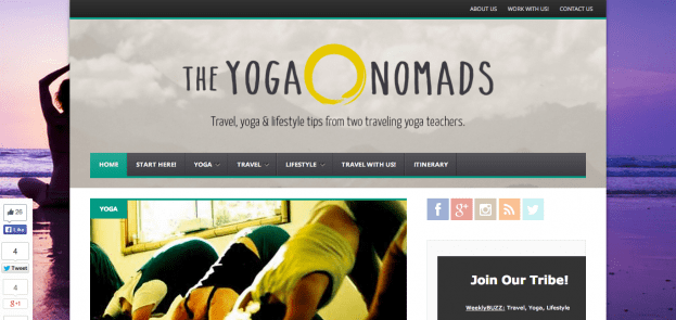 the yoga nomads