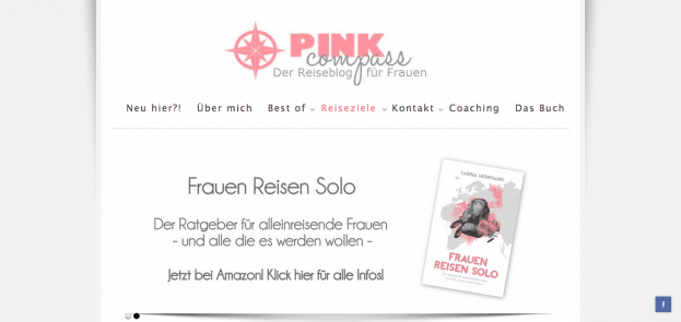 pink compass