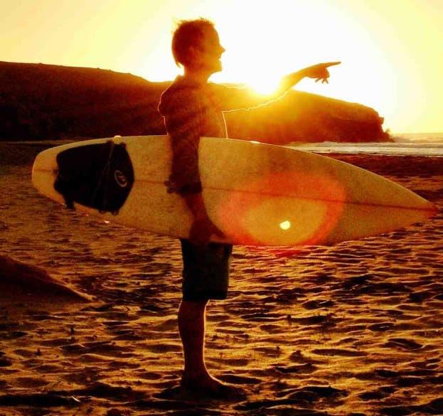surfen reisen