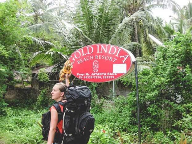 rucksack indien