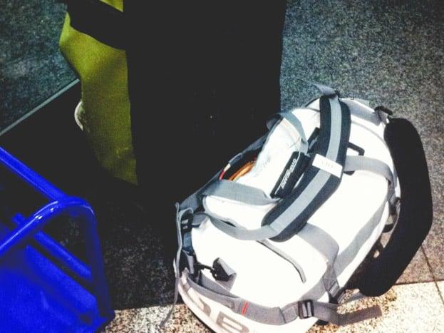 rucksack tauchen