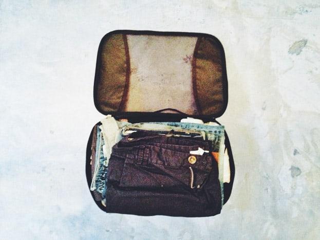 packliste handgepäck