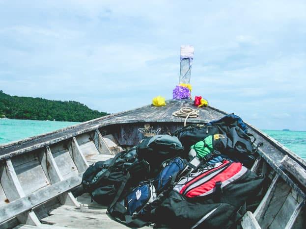 rucksack thailand