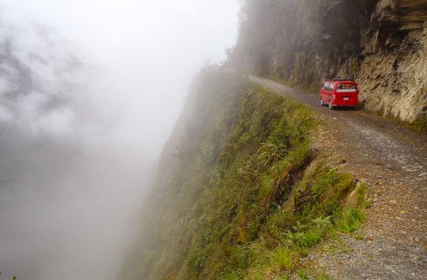 Death Road Bolivien La Paz