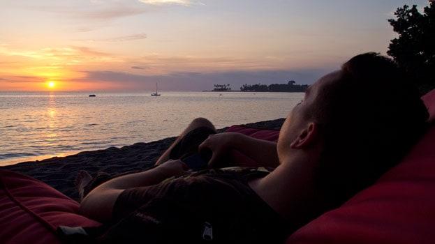 Lombok - Sunset im LaChill