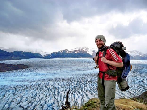 Torres del Paine Chile Gletscher