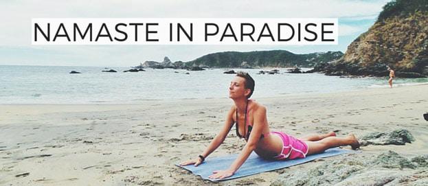 Namaste in Paradise: Einblicke in mein Yogi-Leben auf Retreat in Mexiko
