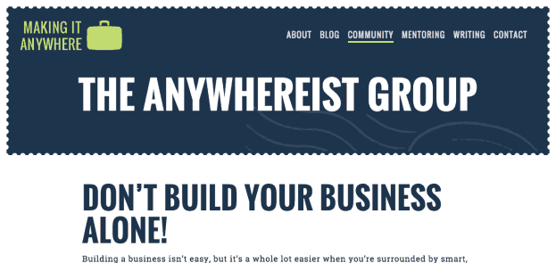 The Anywhereist Group   Making It Anywhere