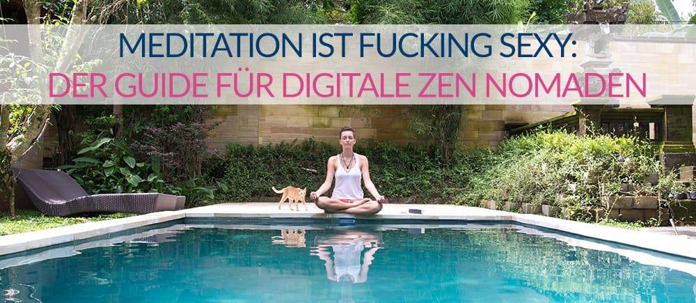 meditation reisen