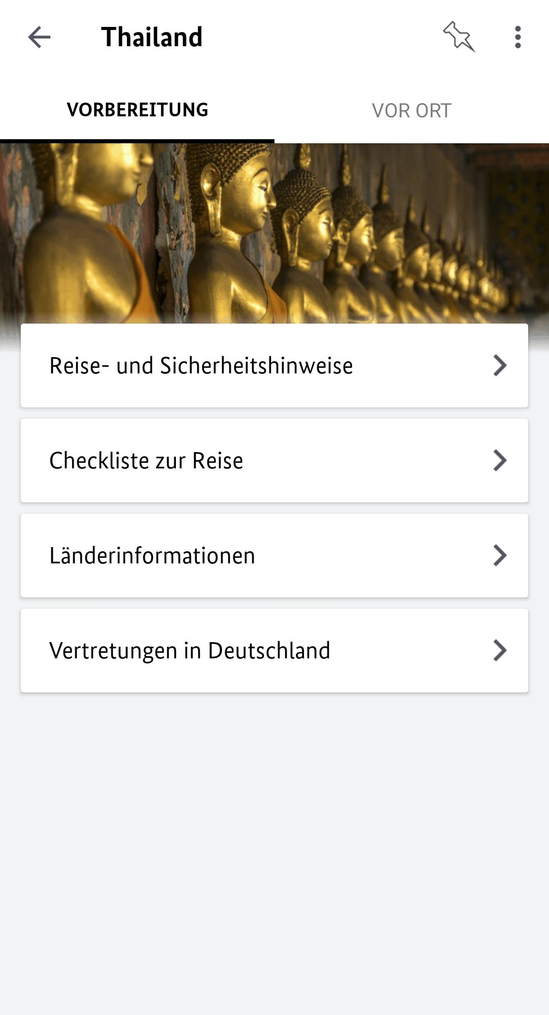 Reise Apps Sicher Reisen Thailand Vorbereitungen