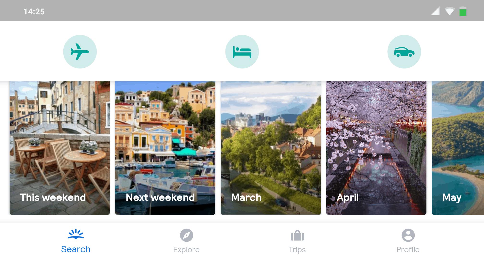 Reise Apps Skyscanner