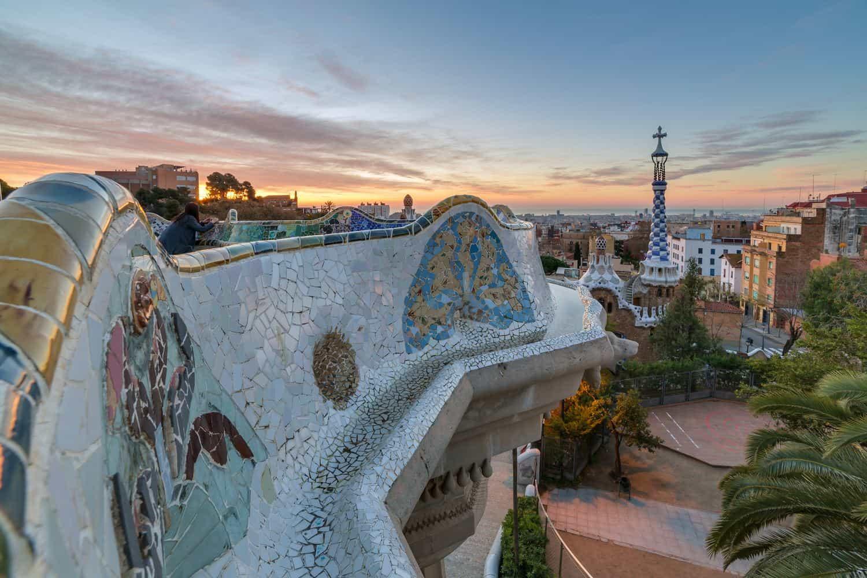 Barcelona Sehenswürdigkeiten – Park Güell