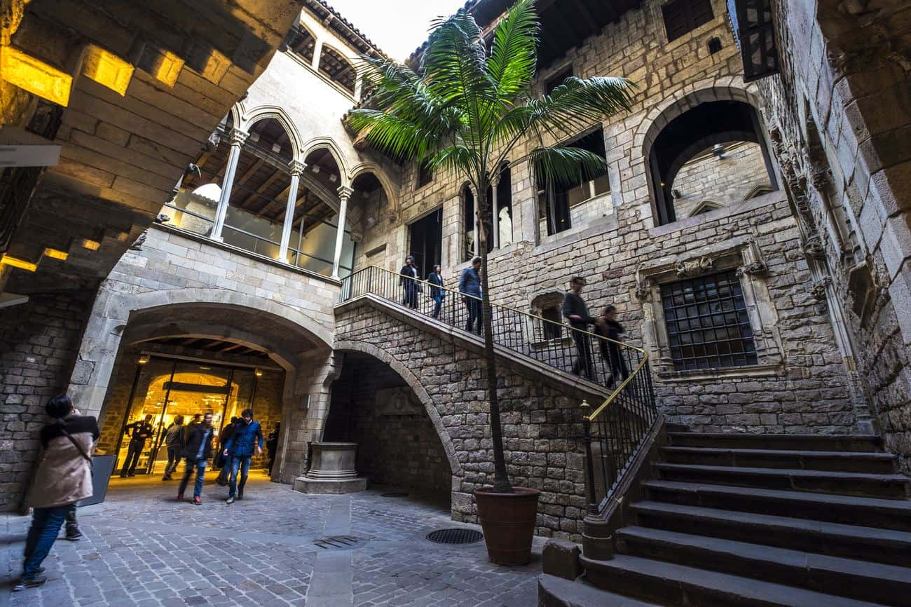 Barcelona Sehenswürdigkeiten – Innenhof des Picasso Museums