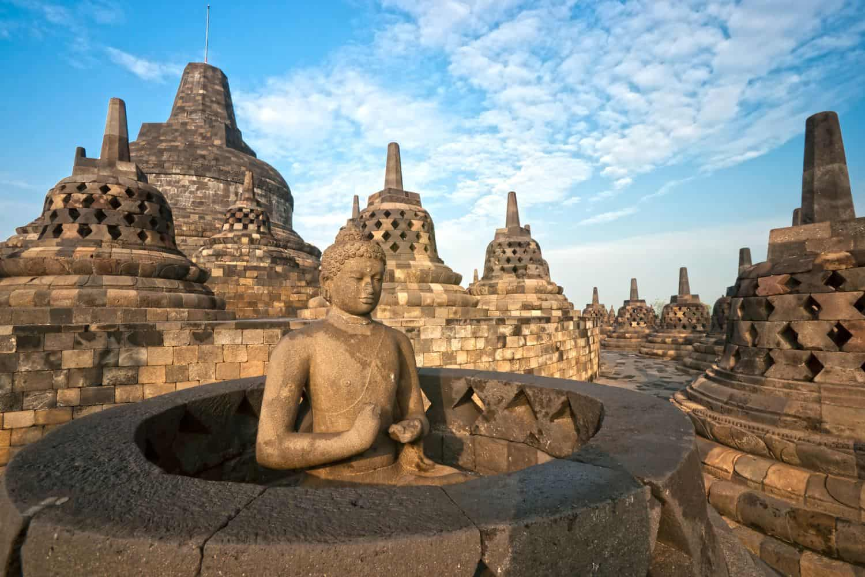 Indonesien Erdbeben – Borobodur-Tempel in Java