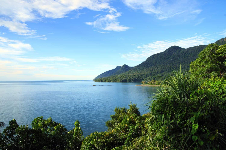 Reiseblog Indonesien Kueste von Saravak Borneo