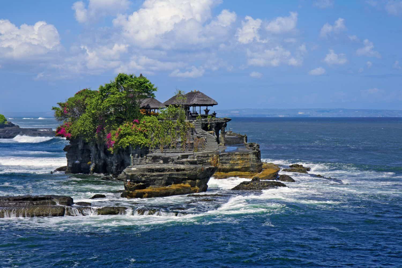 Indonesien Ratgeber Tanah Lot Tempel auf Bali