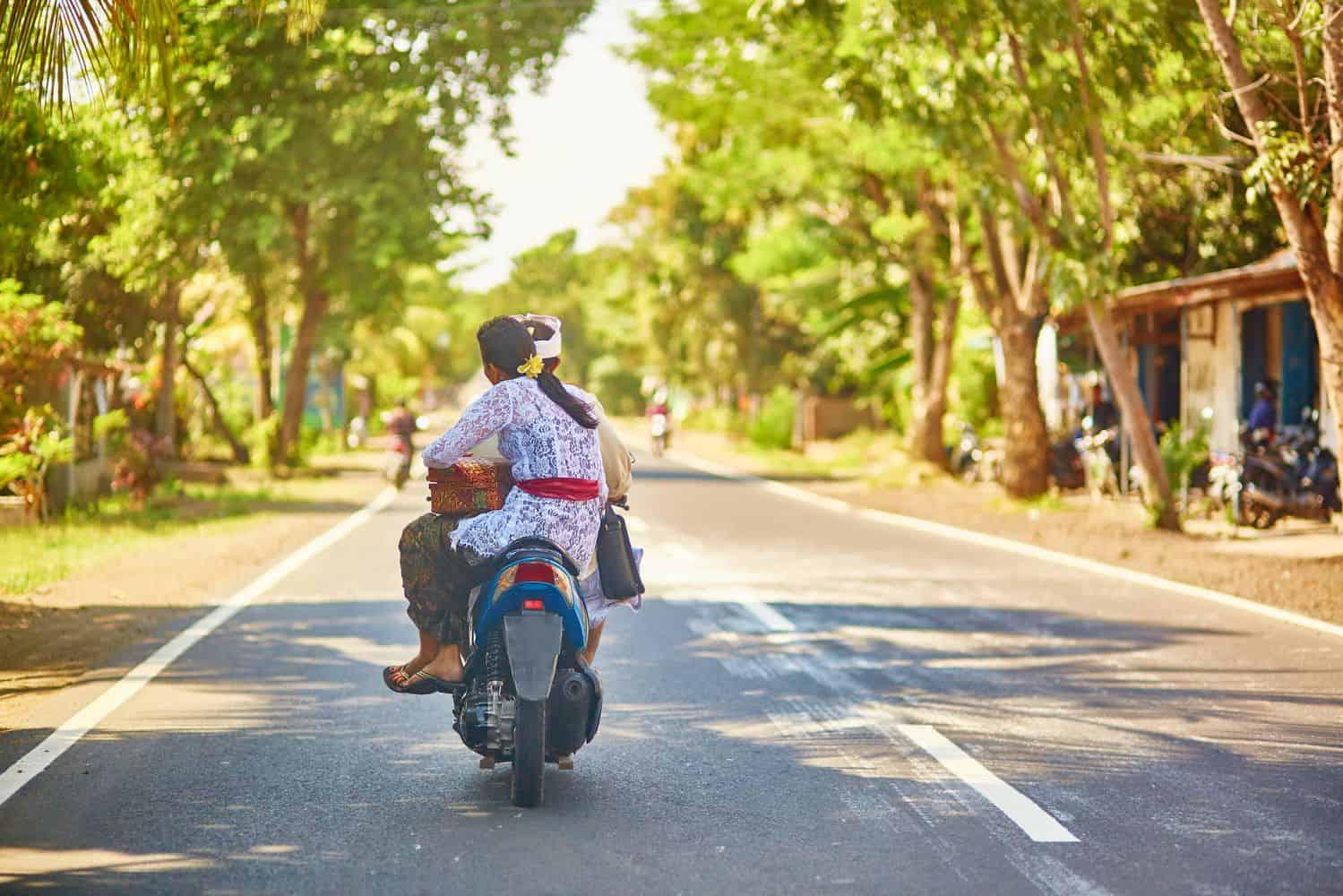 Lombok Reise-Tipps – unterwegs mit dem Roller