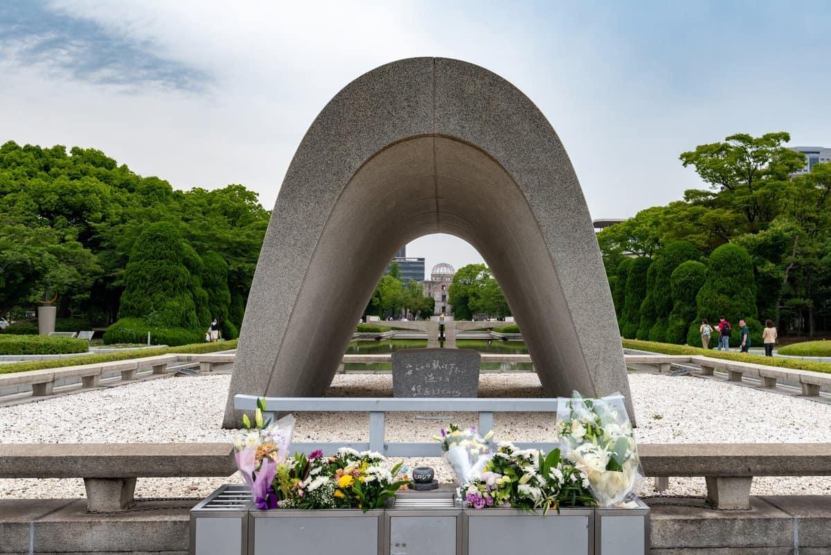 Japan-Reise – Hiroshima Atombomben-Denkmal