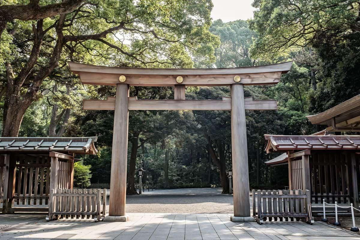 Japan-Reise – Shinto-Schrein Tokio