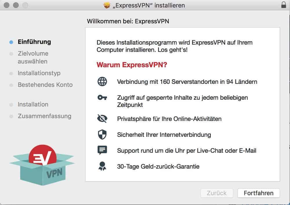 HBO in Deutschland – ExpressVPN-Installation