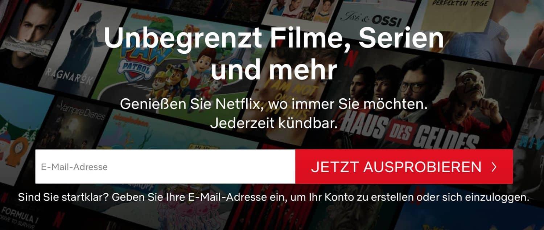 Netflix Geoblocking – Netflix-Garantie