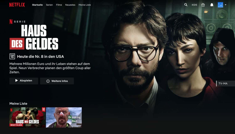 Netflix Geoblocking – Netflix nachher