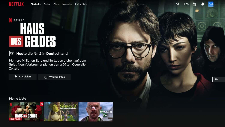 Netflix Geoblocking – Netflix vorher