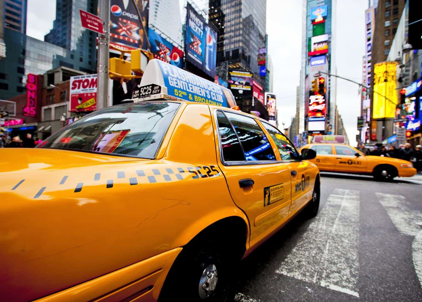New York City - gelbes Taxi