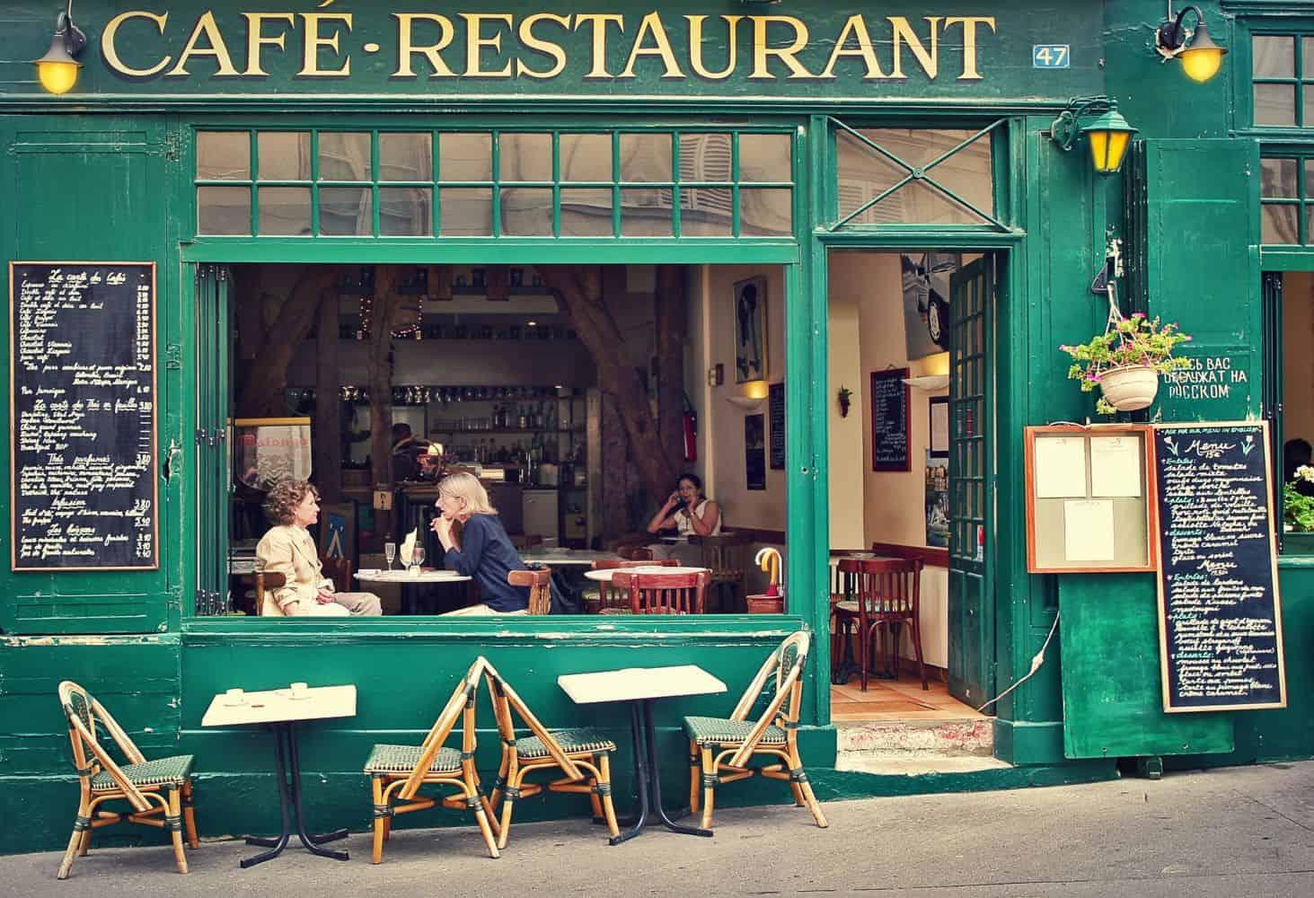 Paris Ratgeber typisches Café