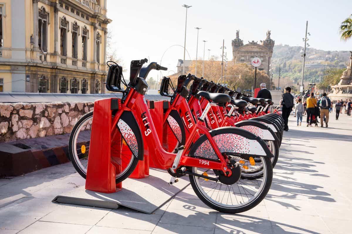 Barcelona Reise Fahrradverleih