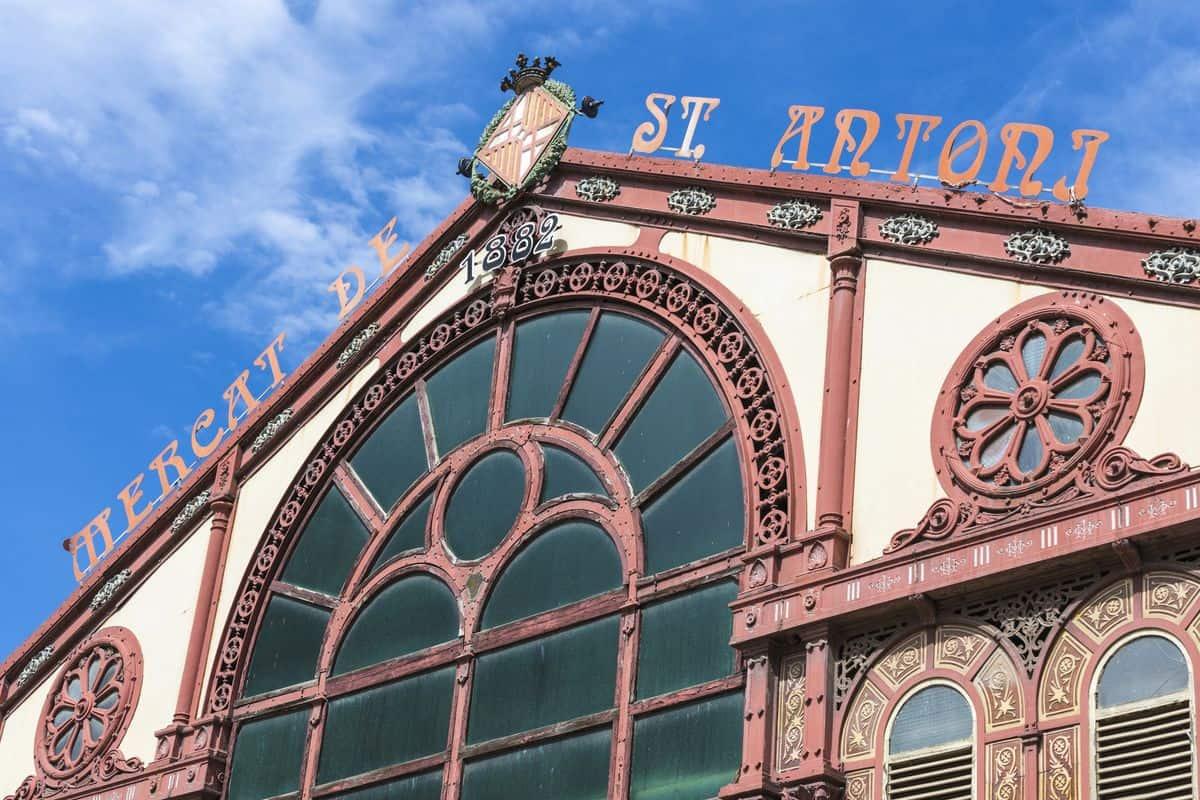 Mercat de Sant Antoni im Stadtviertel St. Antoni