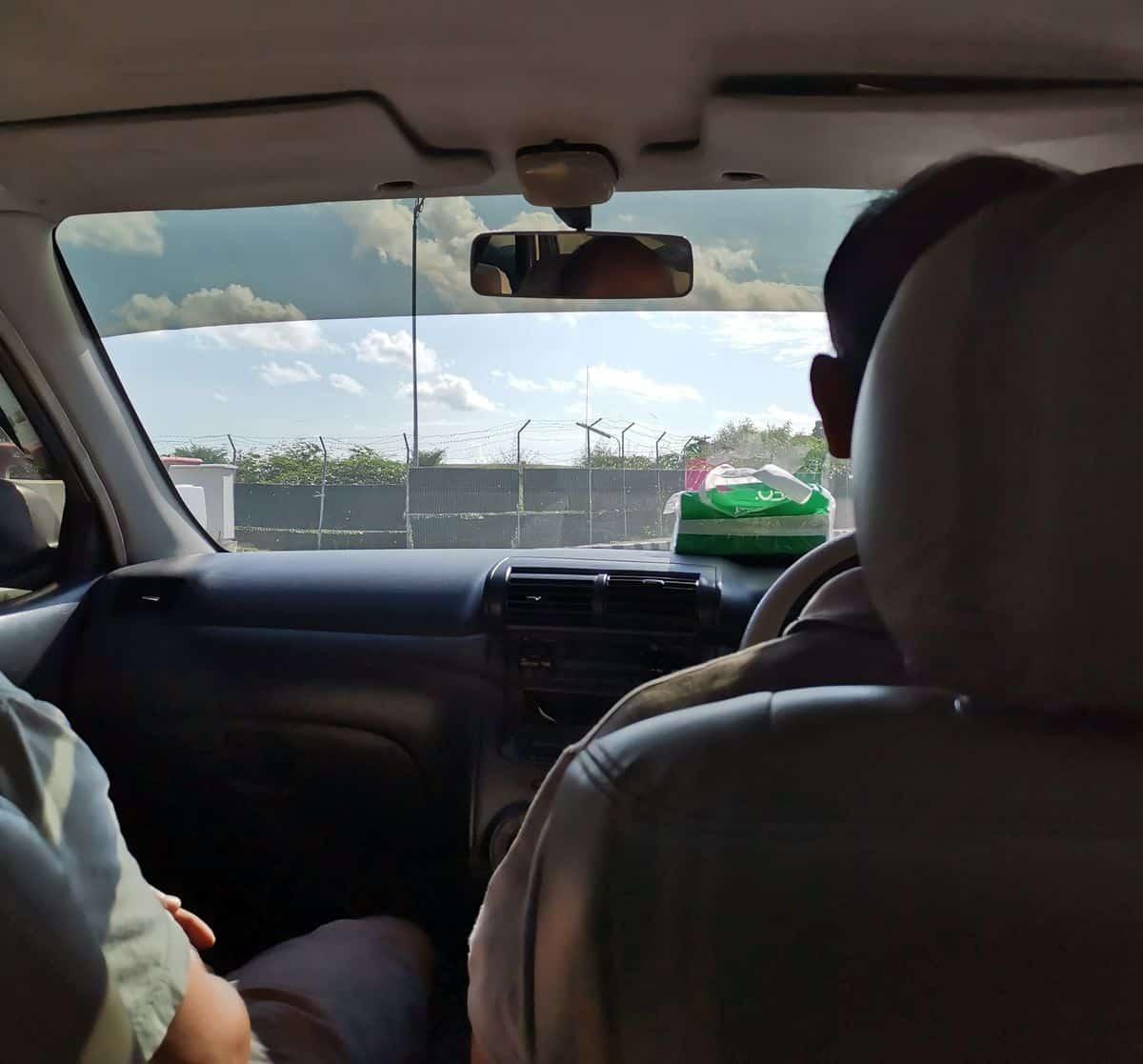 Corona-Rückholaktion nach Deutschland – Autofahrt nach Denpasar