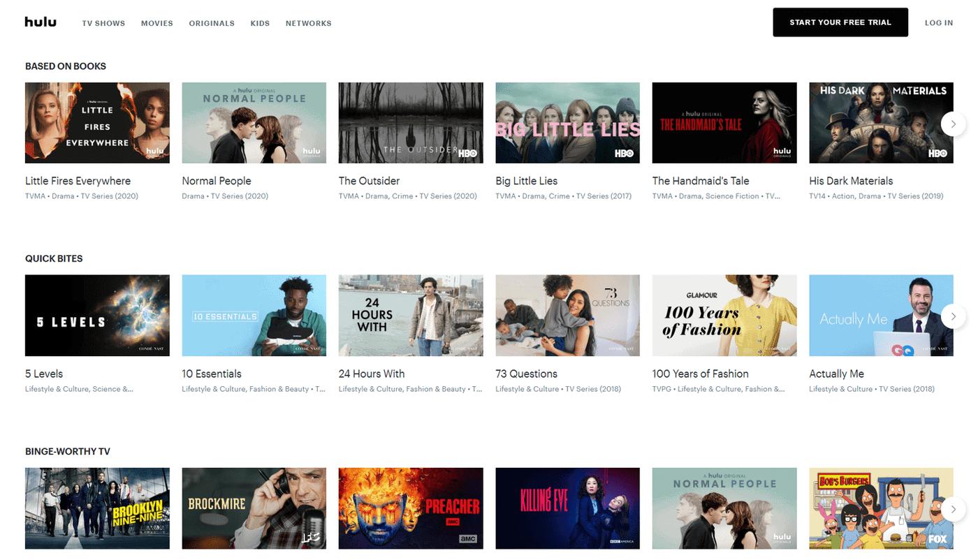 Hulu in Deutschland schauen – TV-Programme auf Hulu